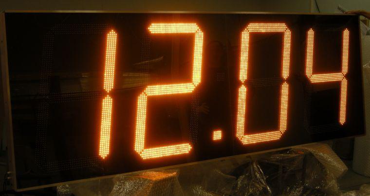 Табло для электронных часов своими руками - Theform1.ru