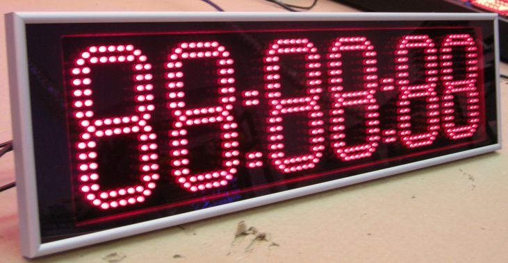 Цифровое светодиодное табло своими руками - BelnurOpt.ru